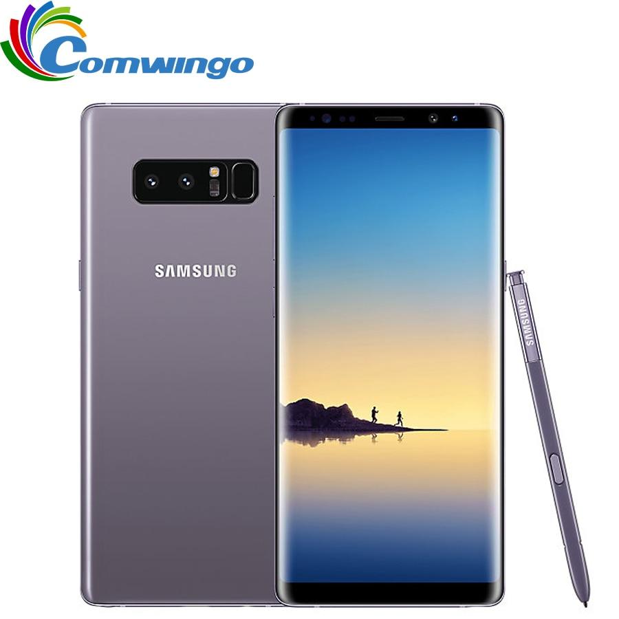 Оригинальный samsung Galaxy Note 8 6 ГБ Оперативная память 64 Гб Встроенная память 6,3 дюйма Восьмиядерный две задних камеры 12MP 3300 mAh разблокированный с...