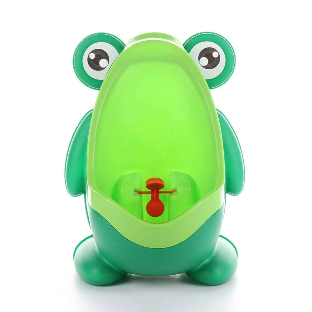 Frog Urinal Kids Boys Bathroom Toilet Training Children Stand Vertical Urinal Wall-Mounted Hook Frog Potty