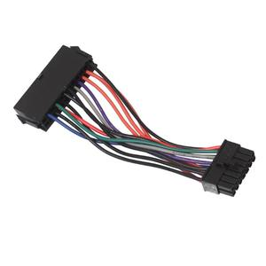 Image 1 - ALLOYSEED ATX 24pin כדי 14pin מתאם כוח כבל 18AWG כבל עבור Lenovo עבור IBM Q77 B75 A75 האם ראשי לוח