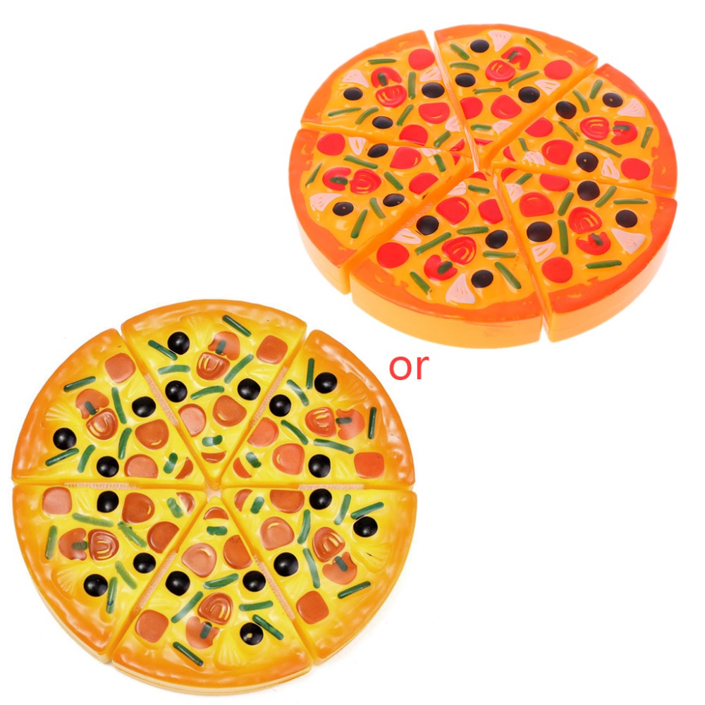 Toys & Hobbies Aspiring 2017 Children Kids Kitchen Pizza Party Fast Food Slices Cutting Pretend Play Food Toy Feb23_30 Pretend Play