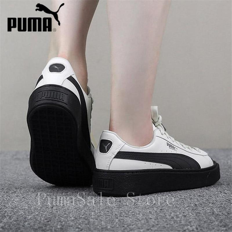 54a4b7c5f5 Sneakers Autumn Scallop Platform Sports Basket PUMA Women's Shoes wqI114