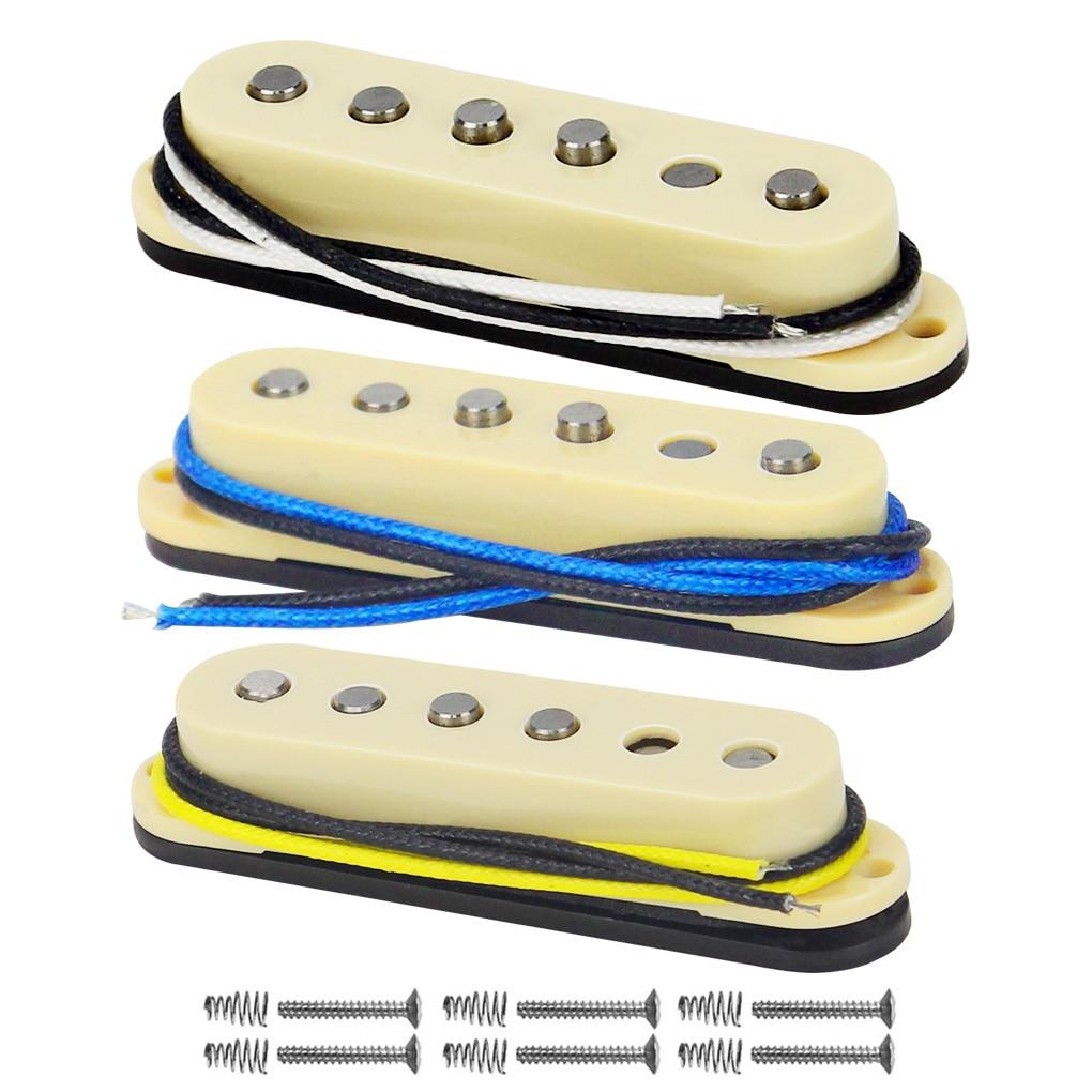 3 Bobbin Pickup Winding Kit for Stratocaster® w// ALNICO 5//2 Poles