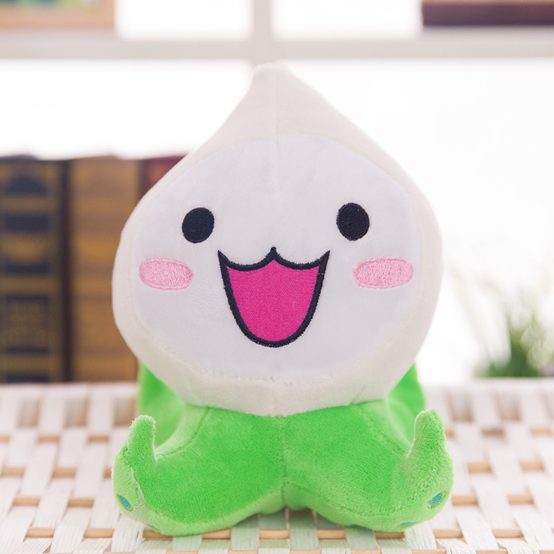 Overwatches Plush Toys Onion Small Squid Stuffed Plush Doll Action Figure Soft Toy For Children