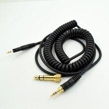 Адаптер для подключения наушников Замена аудиокабеля шнур провод линия «сделай сам» для Audio-Technica ATH-M50x ATH-M40x HD518 HD598 HD595 наушники