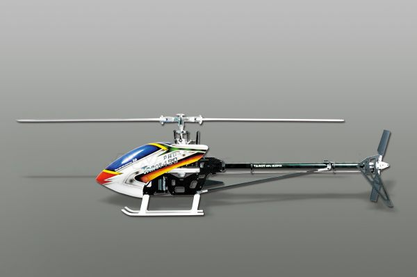 Rc Carbon ALL Metal Helicopter Tarot Torque 450 Pro-V2 Kit White TL20006