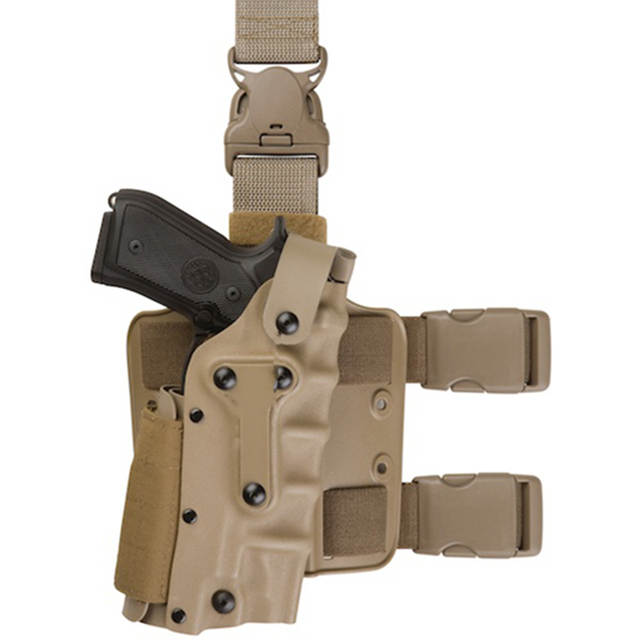 US $22 96 30% OFF| Adjustable Tactical holster Leg Platform Military Army  Combat Leg Holster For GL 17,1911,M92 M9,P226, USP-in Holsters from Sports  &