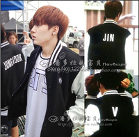 Bts Bangtan Boys Sweatshirt Hip Hop Sport Suit Tracksuit Baseball Jacket For Men Logo Hoodie Sweatshirt
