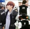 Bts Bangtan Boys Sweatshirt Hip hop Suit Tracksuit Baseball Jacket For Men Logo Hoodie Sweatshirt Bts