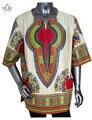 Custom Hombres Camisas Dashiki Africano Hombres Ropa Ropa de Una Pieza de Impresión Tradicional Africano África Ropa 6XL WYN37