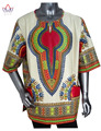 Personalizado Camisas Dos Homens Homens Roupas de Vestuário Tradicional Africano Dashiki Africano One Piece Imprimir África Roupas 6XL WYN37