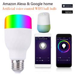 Vintagelll верхнее освещение WiFi лампа WiFi умная лампочка Amazon Echo Rgbw цветная лампочка WiFi лампа