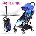 Carrinho de bebê portátil dobrável carrinho de bebê carrinho de criança dobrável carrinho de bebê pode levar o bebê verão