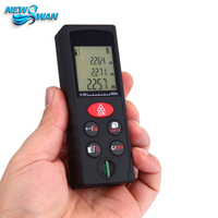 New 80m Laser Distance Meter Laser Rangefinder Accuracy 2mm Handheld Range Finder Tape Measuring Device Ruler Test Tool