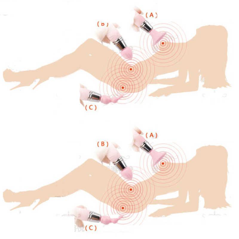 3 in 1 clitoris stimulator 젖꼭지 자극 마사지 여성을위한 강력한 진동 에로틱 한 섹스 토이 커플/성인 게임 제품