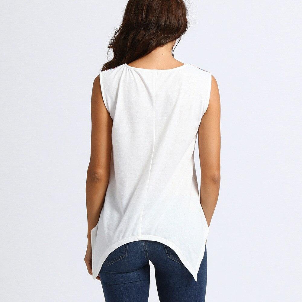 2018 kobiet bluzka modne koszule damskie luźne dorywczo bez  XgEuI