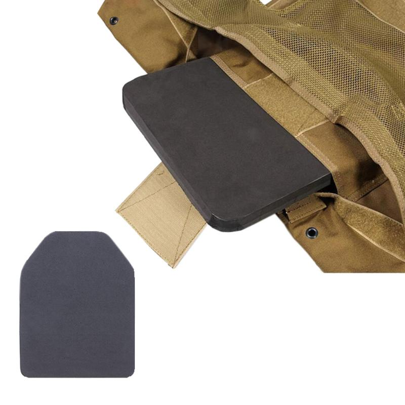 2pcs Outdoor Military Tactical Vest Inner Liner Foam Shock Board Tactical Vests EVA Pad Resistant Dummy Ballistic Plate