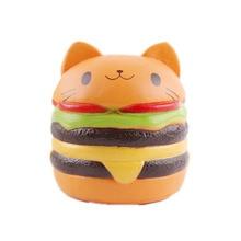 Gaguri Practice glume Novelty Gag Jucării Strânge jucării shocker papusa lol fete răcește anti stres antistres amuzant Hamburger Viscos