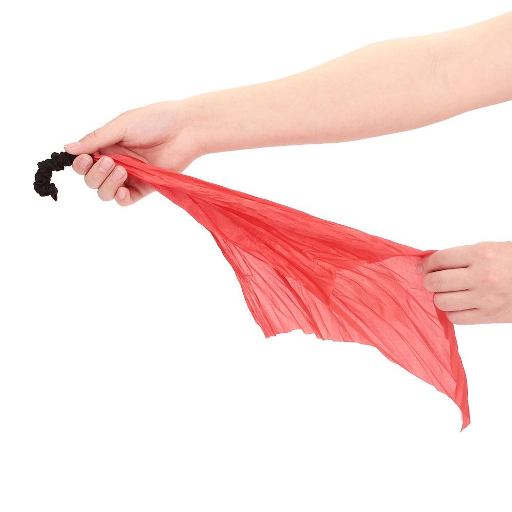 Черный хлопковый шарф с веревкой, магический реквизит, практичный подарок, маленькая игра, волшебные аксессуары, крутая Волшебная веревка, интересный