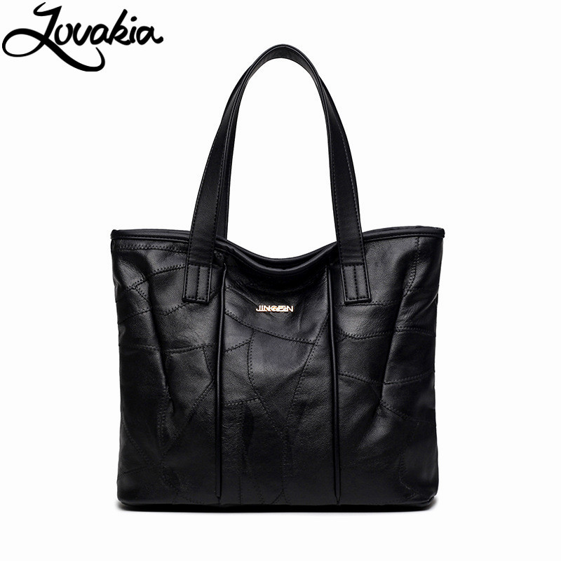 ФОТО 2017 Fashion Genuine Leather Women Handbag Patchwork Shoulder Bag Famous Brand Women Bag Casual Tote sac