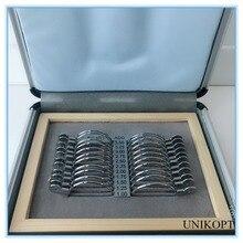 Прогрессивный пробный объектив комплект 22 шт. объектив коробка для сбора доказательств пробный объектив чехол