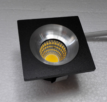 Free shipping Hi-Worth 10pieces Mini led COB downlight 5W cabinet light AC85-265V lamp white or warm RoHS CE