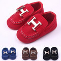 MiYueBB New Arrival Handsome Baby Boy Flat Shoes Anti-Slip Prewalkers//