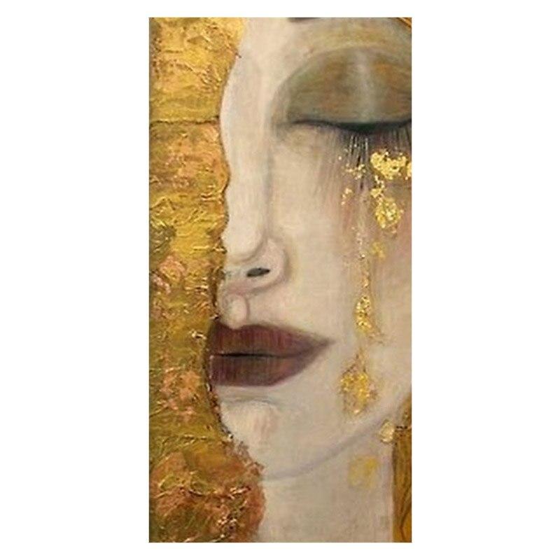 Travel Towel Bamboo: Novelty Bath Towels!Gustav Klimt Painting Background Print