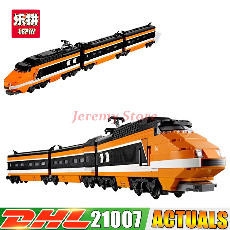2017 DHL LEPIN 21007 The Horizon Express Model 10233 Horizon Train Educational Building Blocks Bricks Toys 1351pcs Gift rexartis rexartis 10233