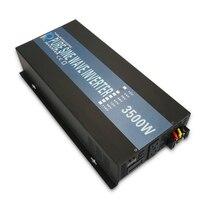 3500 Вт Чистая синусоида солнечный Мощность инвертор Dc 12 В 24 В 48 В к Ac 120 В 220 В Зарядное устройство контроллер Главная Дисплей конвертер автоно