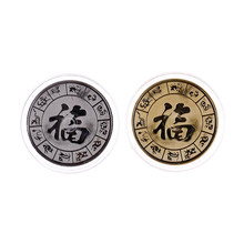 Coin Art Collection Gold Silver Plated Chinese Zodiac Pig CommemorativeGift Birthday Gift Coins/Bullion CollectiblesCoin(China)