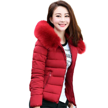 Winter Jacket Women 2017 Fashion New Winter Jacket Women short paragraph Nagymaros collar women padded coat warm female coat