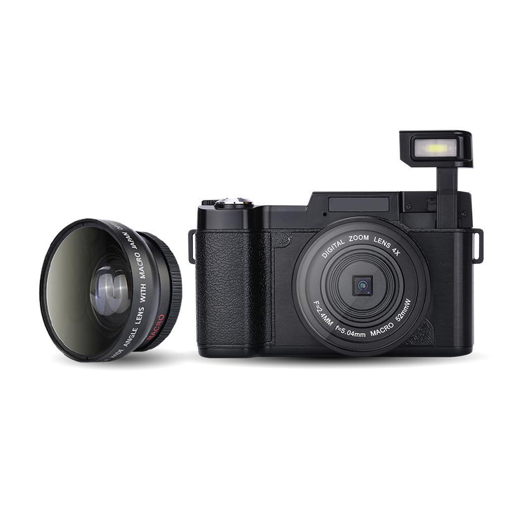 P11 флип экран беспроводной wifi Full HD 1080 P 24MP 16X зум Цифровая камера видеорегистратор - 3