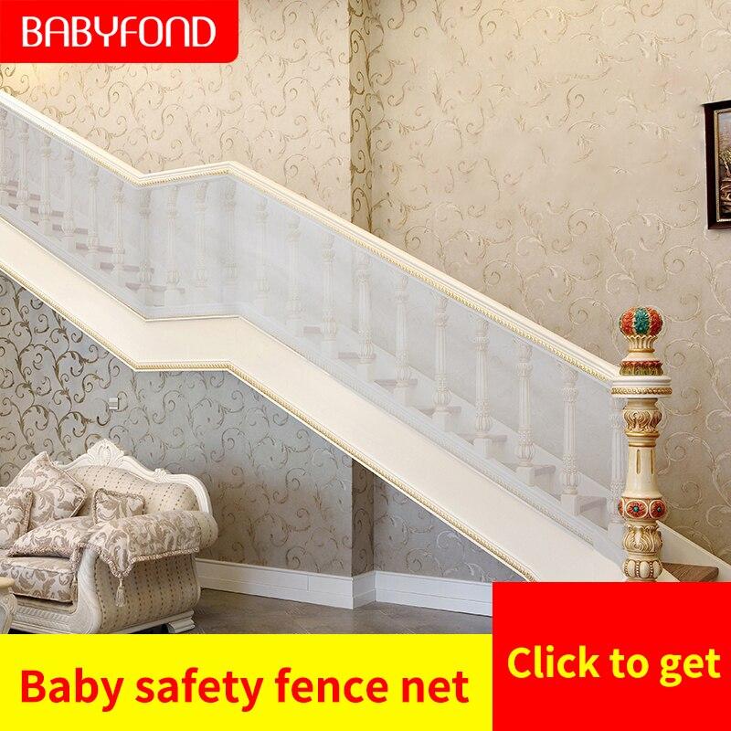 3 metri di rete di protezione del bambino del bambino scala guardrail balcone del gioco del bambino recinzione netto porta di sicurezza recinto della maglia 3 m * 0.78m