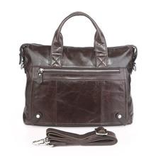 цены Genuine Leather Briefcases Men Handbag Natural Real Cowhide Business Shoulder Bag Crossbody Messenger Hand bags High Quality