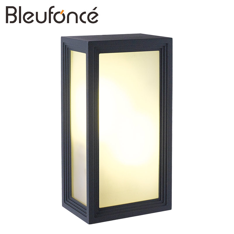 где купить Outdoor Waterproof Wall Lamp LED Wall Sconce Garden lights Outdoor Decoration led modern Wall lamp 110V 220V Lighting Light BL75 по лучшей цене