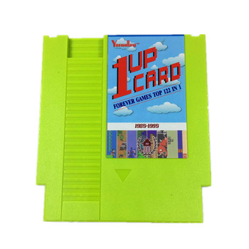 1 Up Card - 122 in 1 Game Cartridge for Classic NES