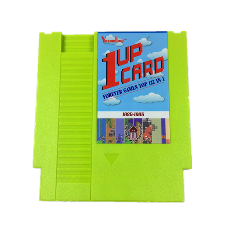 1 Up Winkelwagen 122 In 1 Game Cartridge Contra/Earthbound/Megaman 123456 72 Pins 8 Bit Game Card