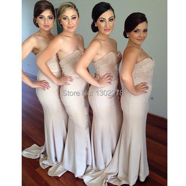 Bridesmaid Dresses Scoop 2015 Bridesmaid Dress Mermaid ...