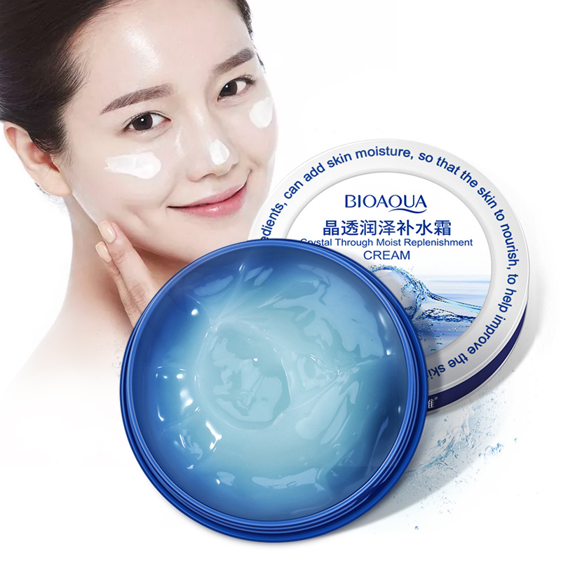 BIOAQUA Deep Moisturizing Day Cream Hyaluronic Acid Whitening Hydrating Face Cream Anti Wrinkle Lift Firming Essence Skin Care