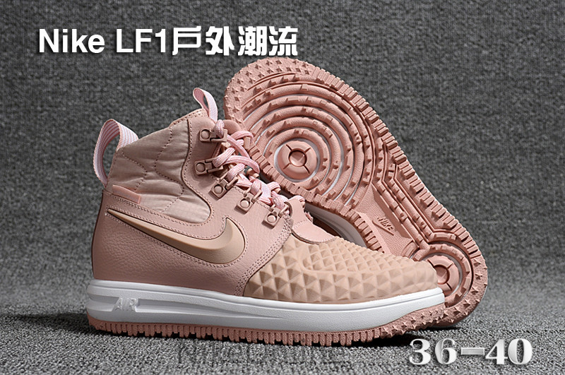 New Arrival Original NIKE Lunar Force 1 Duckboot 17 Women's Breathable Running Shoes Outdoor Sport Shoes 36 40