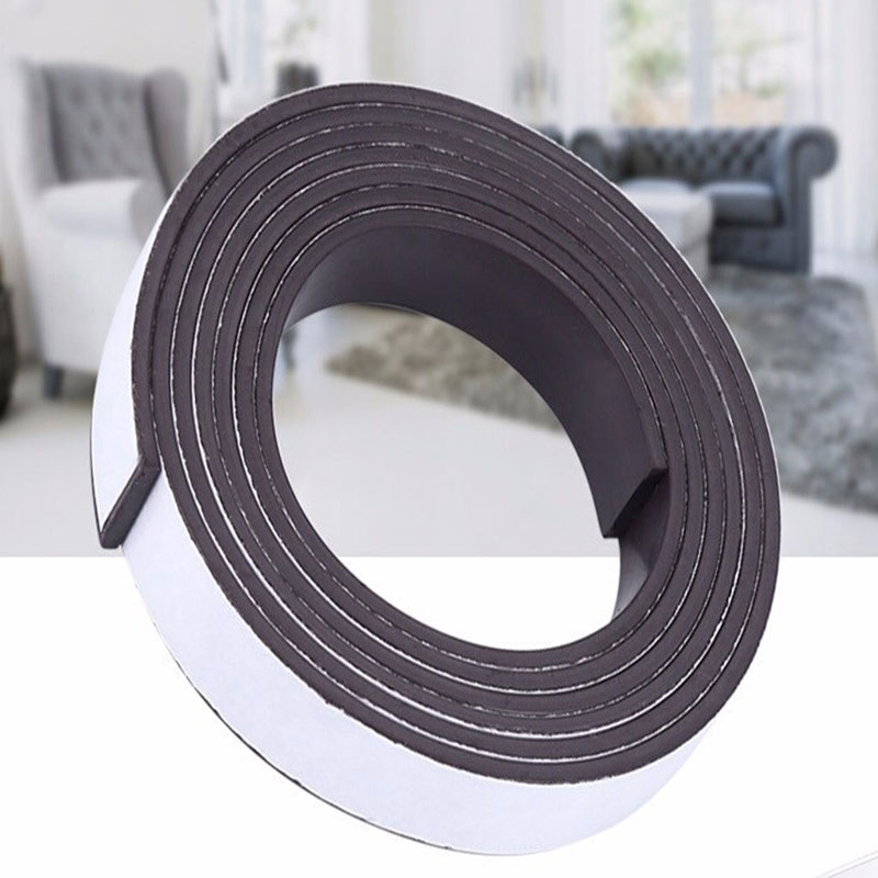 10 * 1.5 mm Self-adhesive Tape 1 M Rubber Magnet Flexible Magnetic Strip Rubber Magnetic Bandwidth 10 mm Thick 1.5 mm10 * 1.5 mm Self-adhesive Tape 1 M Rubber Magnet Flexible Magnetic Strip Rubber Magnetic Bandwidth 10 mm Thick 1.5 mm