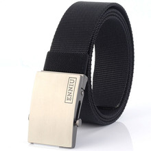 Fashion Women Belts Unisex Men Canvas Metal Buckle 2019 Casual Military Army Belt Outdoor Tactical Jeans Accessories