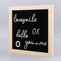 Felt Letter Board EVA Frame Changeable Symbols Numbers Characters Message Boards For Home Office