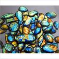 200g QUALITY NATURAL MULTI FIRE LABRADORITE WHOLESALE LOT CABOCHON GEMSTONE