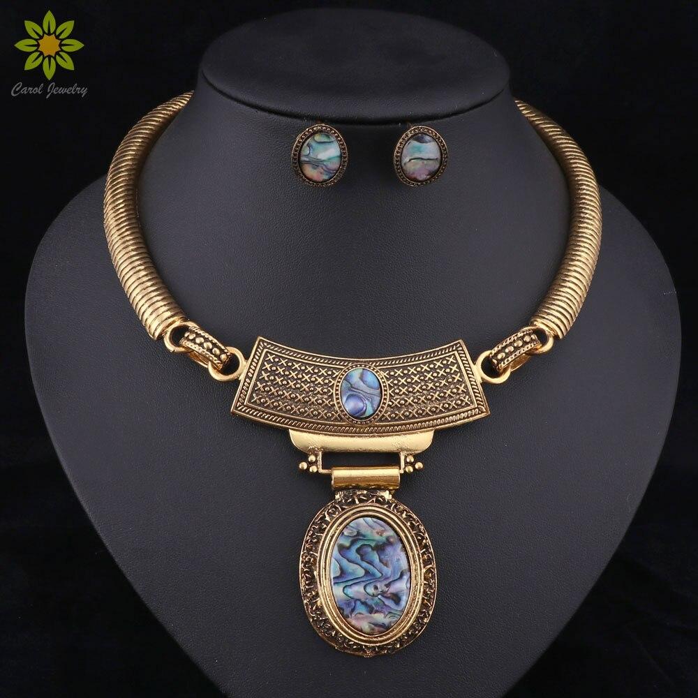 Aliexpress.com : Buy Vintage Jewelry Sets Statement ...