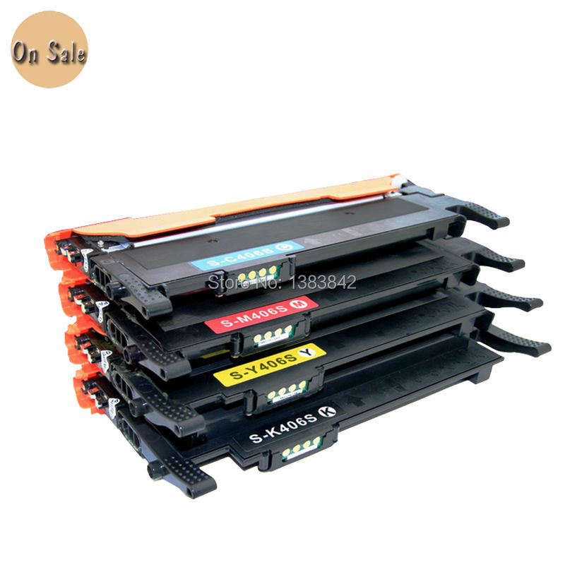 Compatible CLT-K406S C406S Y406S M406S Toner Cartridge 2 Set For Samsung CLP-360