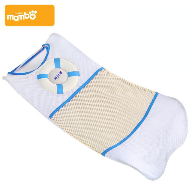Mambobaby Marca Ajustável Assento de Banho Do Bebê Recém-nascido Banho Do Bebê Net 2 Cor Lavagem de Segurança Assento de Bebê Banheira Para Banho Infantil chuveiro