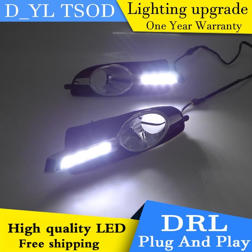 Автомобильный Стайлинг для Buick lacrosse LED DRL для Лакросс светодиодные дневные ходовые огни высокая яркость руководство СИД DRL 4 бусины