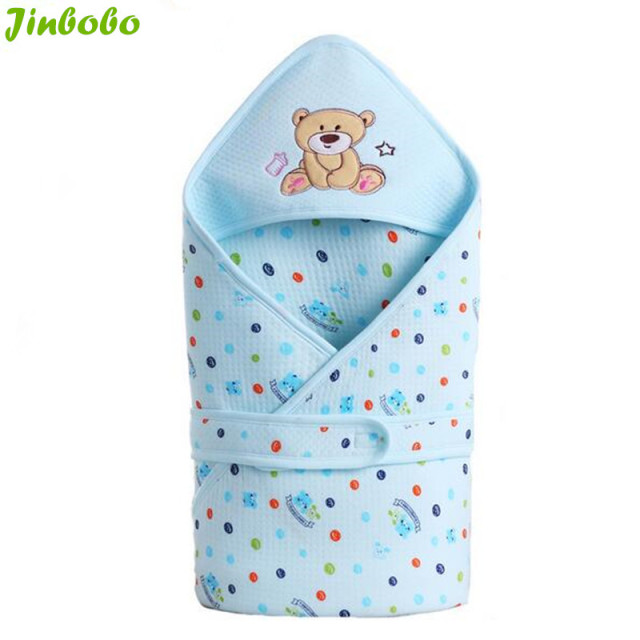 Updated infant Baby cotton Cattle sleeping bags envelope for newborn wrap sleepsack cartoon sleeping bag baby blanket swaddling