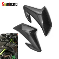 Kemimoto для Kawasaki z900 2017 для Kawasaki Z 900 сбоку Обложка мото z900 Интимные аксессуары мотоцикла Панель обтекатель углерода Волокно